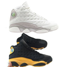 Chinese  13 Melo Class of 2002 Phantom Black Gold Gum Hyper Royal Olive Altitude Wheat Mens Womens Kids 13s Basketball Sneakers manufacturers