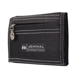 Boys Designer Wallets UK - KUDIAN BEAR Causal Style Canvas Wallet Short Designer Men Wallets Zipper Coin Purse Card Holder For Teenager -- BID047 PM15