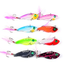 brand fishing lures Australia - 8pcs lot Fishing Lures PRO BEROS Brand Hot Metal Lure 8 color Fishing Tackle 5.5cm 11.1g Fishing bait Artificial