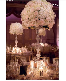 $enCountryForm.capitalKeyWord NZ - Top grade Crystal wedding centerpiece Table centerpiece Flower Stand pillars 75cm tall 15cm diameter Wedding decoration party decor