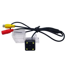 ford escape cars 2019 - wholesale Car Rear View Camera With LED For Ford Edge Fusion Mondeo Kuga Escape Reversing Parking Camera #3916