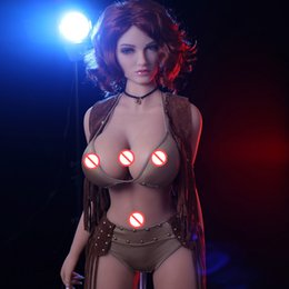 $enCountryForm.capitalKeyWord Canada - 163cm Real Silicone Sex Doll For Men Big Breast Big Ass Realistic Vagina Oral Anal Sex Doll Skeleton TPE Japanese Love