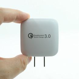Großhandel Hohe Qualität Ladegerät QC 3,0 Schnell Schnell Ladegerät Home Reise Ladegerät 12 V 1.6A 9 V 2A Für Universaltelefon