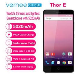 "$enCountryForm.capitalKeyWord UK - Vernee Thor E 5020mAh 3GB RAM 16GB 5.0"" On-Cell Display Mobile Phone MT6753 Octa Core Android 7.0 OTG 13MP Fingerprint Cellphone"