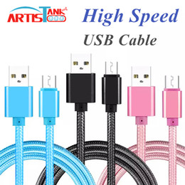 Cloth braided online shopping - USB Type C Cable Micro USB Cable Braided Nylon M M M Tough Cloth For Galaxy Google Pixel High Speed Charging Cord