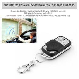 $enCountryForm.capitalKeyWord Australia - 10PCS Universal Wireless RF Remote Control Key 4 Channel ABCD 433MHz Electric Garage Door Alarm Keychain Controller Car Keys