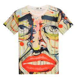 $enCountryForm.capitalKeyWord UK - Van Gogh Vogue Funny T Shirt O Neck Short Sleeve Yellow Cute Graphic Women Tees Korean Harajuku Ulzzang Cotton T-shirt Female