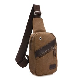 047e1c01eb8 New Casual unisex chest pack canvas bags High Quality multifunctional small  men messenger bags Fashion shoulder bags