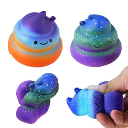 $enCountryForm.capitalKeyWord NZ - Jumbo dung shit excrement Squishy Squeeze Toys Antistress Jokes Funny Gadgets Prank Slow Rising Squishies Anti Stress Toys Sky Blue Rainbow