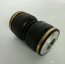 WZ120180K-2 Подходит для D2 coilovered (М52 * 1.5) нитей шаг пневматическая подвеска двойной резиновый весна воздуха подушка валик универсальный пневмоподвеска