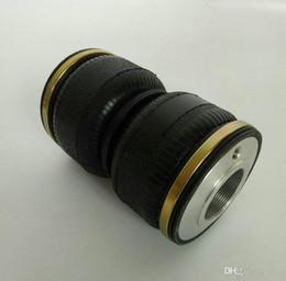 Großhandel WZ120180K-2 Passend für D2-Gewindefahrwerke (M52 * 1,5) Stufenluftfederung Doppelte Gummiluftfeder Airbagkissen-Universalluftfederung