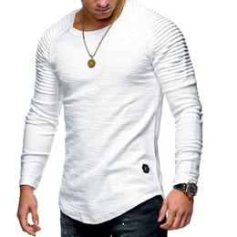 $enCountryForm.capitalKeyWord NZ - 2018 Black Men Running T-shirts Round Neck Slim Long sleeve T-shirt Striped Training Sport shirt Fitness Tops Soccer jersey