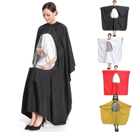 $enCountryForm.capitalKeyWord NZ - 4 Colors Adult Salon Hair Cut Hairdressing Barbers Hairstylist Cape Gown Waterproof Barber Cover Cloth Transparent Covers