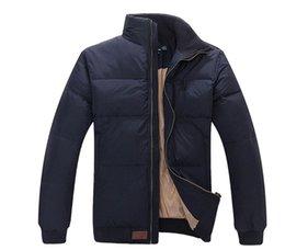 Wholesale jacket winter men famous resale online – Hot Stand Collar Winter Warm Flag Famous Pony Down jacket Fashion Appliques Zipper Outerwear more color sports cotton Horse Parkas coats