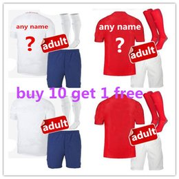 cc949ef5673 2018 World Cup soccer Jersey england adult kit ROONEY home Away KANE  STURRIDGE STERLING HENDERSON VARDY 2019 football shirt Maillots de Foot