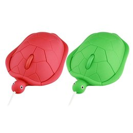 cute pc mouse 2019 - ALLOYSEED Mini Cute Kawaii Wired Mouse 2.0 Usb 3D Tortoise Animal PC Computer Gamer Lovely Turtle Maus Funny Gift Notebo