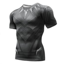 $enCountryForm.capitalKeyWord UK - 2018 MMAmarvel compression shirt fitness tights crossfit quick dry short sleeve t shirt Summer Men tee tops clothingS-4XL