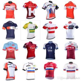 a8b9277bb 2018 pro team Katusha IAM cycling jersey Ropa ciclismo short sleeve cycling  clothing maillot ciclismo bicicleta bike clothing F2272