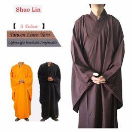 $enCountryForm.capitalKeyWord NZ - Shanghai Story Unisex Top Quality Shaolin haircords Temple Zen Buddhist Robe Lay Monk Meditation Gown Kung fu Training plus size
