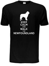 Mantenha a Calma Caminhada A Terra Nova KC Presente Dos Amantes Dos Homens T Shirt Tamanho S-XXL venda por atacado