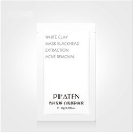Clay faCe masks online shopping - PILATEN White Clay Peel Facial Mask Deep Cleaning Blackhead Remover Face Mask Oil control Moisturising Pore Cleaner