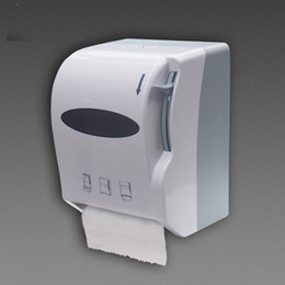 Roll Papers NZ - Jumbo Roll Paper Holder Paper Towel Dispenser Tissue Box with Big Pull Rod