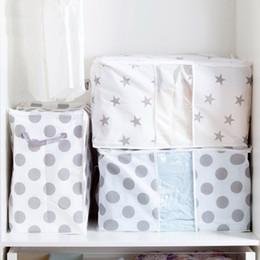 $enCountryForm.capitalKeyWord Canada - Foldable Storage Bag Clothes Blanket Quilt Closet Sweater Organizer Box Pouches storage drawers organizer