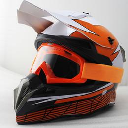 $enCountryForm.capitalKeyWord Australia - Upbike Motorcross ATV Dirt bike downhill Helmet capacete da motocicleta cascos motorcycle Protective Gears MOTO helmet + Goggles