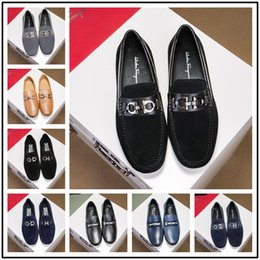 chains for dresses Australia - 2018 Luxury Designer black leather dandelion spikes flat red bottom loafers for men, business wedding dress shoes,fashion mens oxfords 38-44