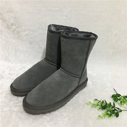 HOT Australian Style Ugs Women Unisex Snow Boots Waterproof Winter Leather Boots Brand IVG Outdoor Shoes Size EU34-45