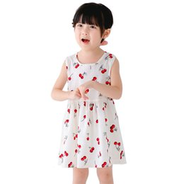 07c2f3a0f wholesale price 9873b fa874 2018 new kids dresses baby girls fruit ...