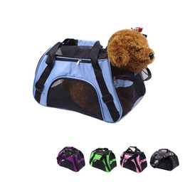 Shoulder Dog Carriers NZ - Small pet carrier cat puppy dog carrier outdoor travel single shoulder bag sling fashion breathable pet carring bag for weight less 5kg