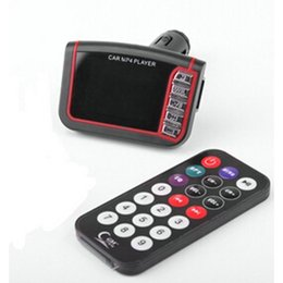 """Mp4 Monitor Canada - 15% OFF New 1.8"""" LCD Vehicle Music Car Kit MP3 MP4 Player FM Transmitter With Remote Control 1Pc"""