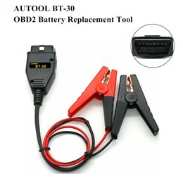 $enCountryForm.capitalKeyWord Australia - AUTOOL BT-30 OBD2 Auto Battery Replacement Tool car battery Alligator Clips Clamps Car ECU Emergency Power Supply Cable