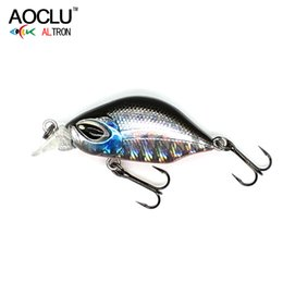$enCountryForm.capitalKeyWord Australia - AOCLU wobblers 6 Colors 3cm 3.0g Sinking Hard Bait VIB Minnow Crank Fishing lures Bass 14# VMC hooks tackle free shipping Y18100806