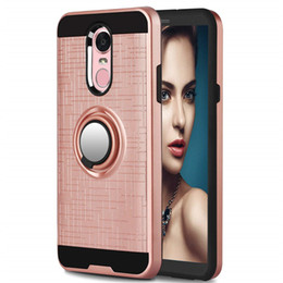 Discount alcatel cell phone wholesales - Armor Cell Phone Case TPU PC Magnetic Suction Bracket For Alcatel 7 Metropcs 7 Folio Case Cover 360 Degree Holder A