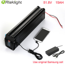 $enCountryForm.capitalKeyWord Canada - No taxes High Power 52V 1000w Lithium ion battery pack down tube 52v 15ah shark ebike battery with USB port For Samsung cell