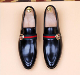 Designer oxforD shoes online shopping - Men s Shoes Luxury designer Leather Casual Driving Oxfords Flats Shoes Mens Loafers Moccasins Italian Shoes for Men