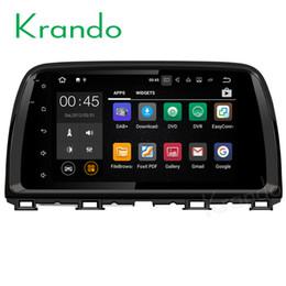 "Mazda Mobile NZ - Krando 9"" Android 7.1 car dvd gps navigation player for mazda CX-5 audio radio multimedia system entertainment WIFI 3G DAB+"