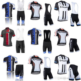 sports gear clothing 2019 - GIANT Cycling Short Sleeves jersey (bib) shorts sets 2018 Men's New Outdoor Sports Bike Clothing Stylish Cycling Ge
