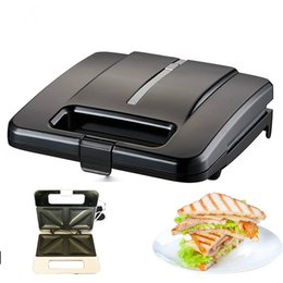 Discount bread machines - Household Multifunctional Electric Eggs Sandwich Maker Non-Stick Mini Bread Grill Waffle Crepe Toaster Pancake Baking Br