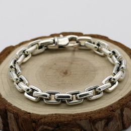 6055885eb6e785 Thai braceleTs men online shopping - Starfield S925 Sterling Silver  Personalized Punk Jewelry Simple Men Women