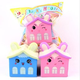 Toy mobiles online shopping - Squishy Scented Bear House Slow Rising Soft Squeeze Stuffed Kids Toys Mobile Phone Straps Funny Pressure Release Toy Novelty Items OOA5066