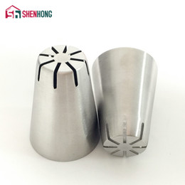 Icing Nozzles Tips NZ - New Amazing Small Russian Cake Nozzle Tips Pastry Decorating Stainless Steel Icing Piping Tools for the Kitchen Baking Boquillas