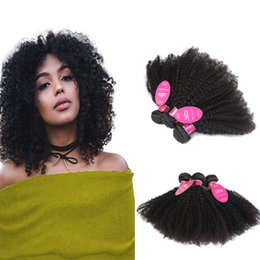 China 8A Brazilian Afro Kinky Curly Hair Weave 3 Bundles Unprocessed Brazilian Virgin Hair Extensions Cheap Wholesale Price Human Hair Bundles supplier afro kinky human hair price suppliers