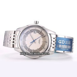 Chinese  New Hour Vision Date White Dial 431.30.41.21.02.001 Japan Miyota 8215 Automatic Mens Watch Stainless Steel Band Gents Watches Hello_watch manufacturers