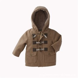 infant baby clothing UK - Cotton Baby Coat Winter Baby Boy Clothes Roupas Bebe Children Clothing Fashion Infant Baby Jackets Autumn Kids Clothes Outerwear