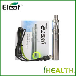 Ijust2 battery online shopping - iSmoka Eleaf iJust Kit Newly iJust2 Mini Kit mah mah iJust2 battery ml ml iJust2 Atomizer Original