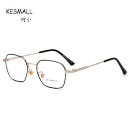 9d099ad624b KESMALL New Brand Designer Glasses Frame Men High Quality Eyeglasses Frames  Women Clear Lens Eyewear Occhiali Miopia XN791