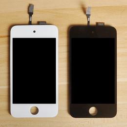 Sinbeda 100% оригинальный ЖК-экран для ipod Touch 4 ЖК-дисплей + сенсорный экран стекла белого или черного цвета, полная сборка